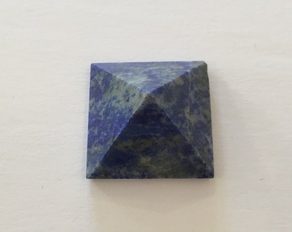 LAPIS LAZULI Pyramid// Crystal PYRAMID// Lapis Pyramid// Stone Carved Pyramid// Lapis Lazuli// Healing Crystals// Healing Tools// Home Decor