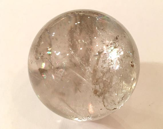 QUARTZ Sphere// Quartz SPHERE// Crystal Sphere// Clear Quartz/ Healing Gemstone// Crystal Ball// Home Decor/ Healing Tools// Polished Quartz