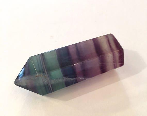 FLUORITE OBELISK// RAINBOW Fluorite// Healing Gemstones// Home Decor// Healing Tools// Carved Obelisks// Crystal Points// Healing Crystals