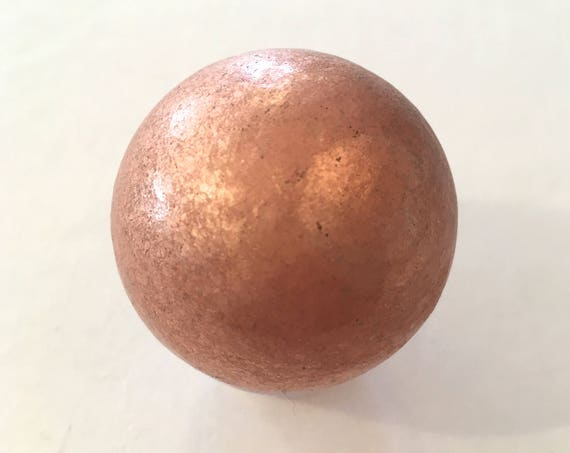 COPPER Sphere// Copper Sphere// Crystal Sphere// Healing Gemstone// Crystal Ball// Home Decor// Healing Tools// Beautiful Copper Orb