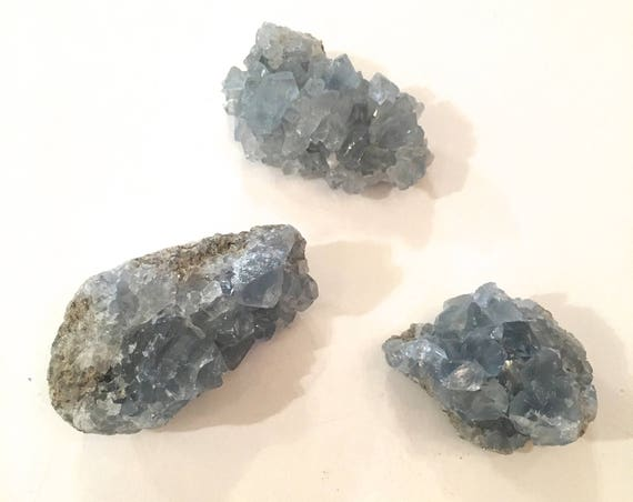 CELESTITE// Healing Gemstone// Raw Celestite// Raw Crystals// Home Decor// Healing Tools// Statement Piece// From Madagascar