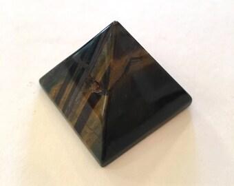 Pyramide de gu/érison en Cristal de Jaspe Rouge Pyramide de Jaspe Rouge pour Pierre de Grille en Cristal