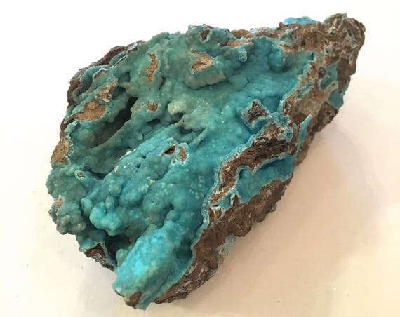 HEMIMORPHITE Healing Gemstone// Raw Hemimorphite// BLUE HEMIMORPHITE// Raw Healing Crystals// Home Decor// Healing Tools// Statement Piece