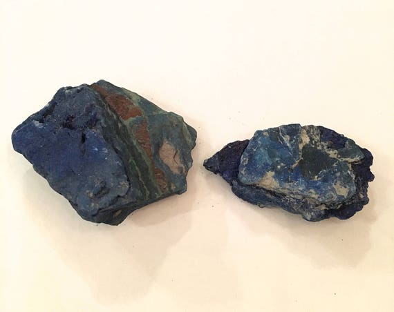 AZURITE Raw Healing Gemstone// Raw Crystals// Home Decor// Healing Tools// Psychic and Intuitive Development// Throat + Third Eye Chakras