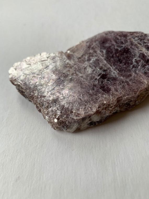 Beautiful Raw LEPIDOLITE Healing Gemstone// Lepidolite// Raw Specimen// Raw Crystals// Healing Tools// Healing Crystals// Home Decor/ Mica