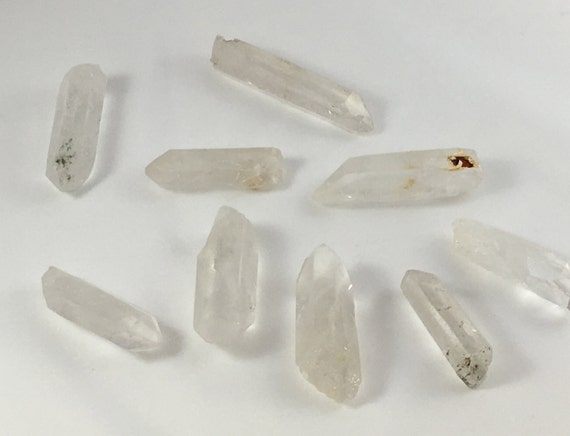 Beautiful Natural Quartz Points// Quartz Laser Points// Healing Gemstones// Powerful Healing Crystals// ALL Chakras// from Brazil