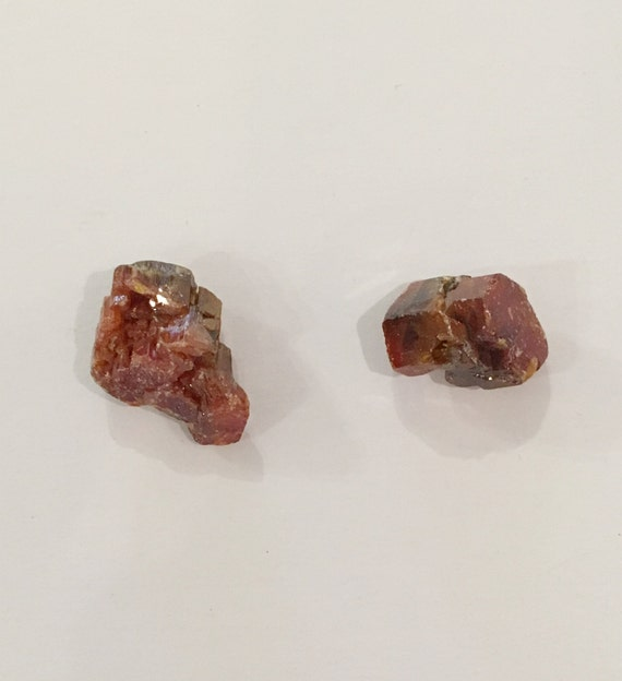 VANADINITE Raw Healing Gemstone// Vanadinite Specimen// Raw Crystals// Home Decor// Healing Tools// Root Chakra Stone// Grounding Crystal
