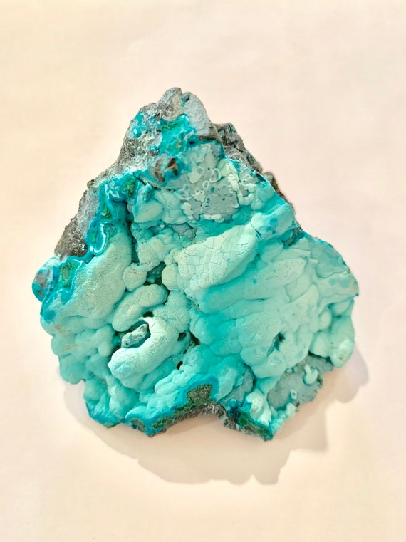 Chrysocolla Raw Healing Gemstone// Raw Crystals/ Intuition, Communication, Transformation// Throat + Root Chakra/ from The Congo