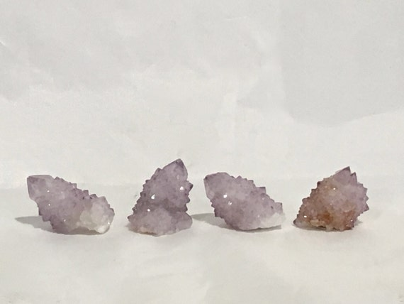 Beautiful NATURAL SPIRT QUARTZ Points// Cactus Amethyst// Healing Gemstones// Home Decor// Healing Tools// Crystal Points// Healing Crystals