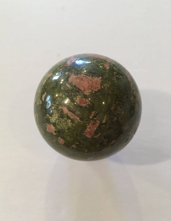 UNAKITE Sphere// Unakite SPHERE// Crystal Sphere// Healing Gemstone// Crystal Ball// Unakite// Home Decor// Healing Tools// Unakite Jasper