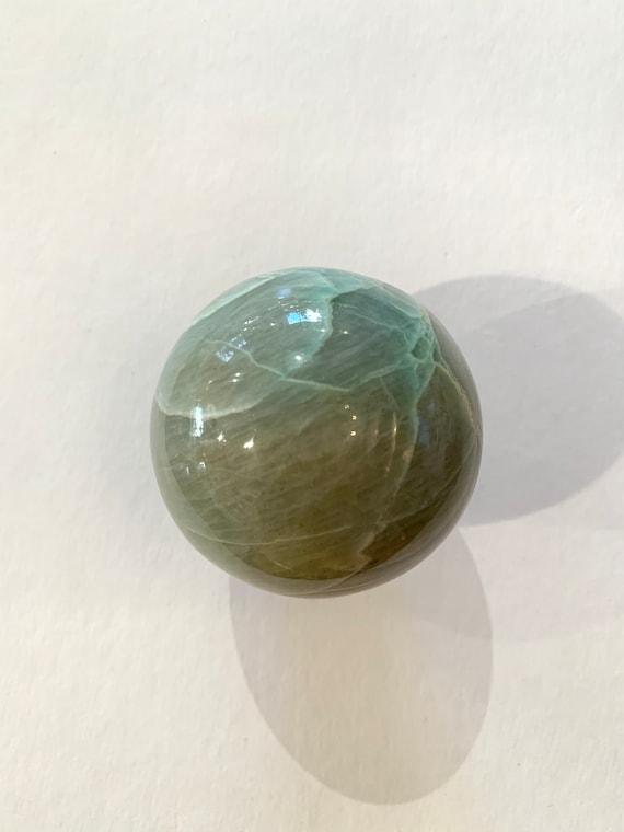 GARNIERITE Sphere// Garnierite Orb// Crystal Sphere// Healing Gemstone// Crystal Ball// Home Decor// Healing Tools