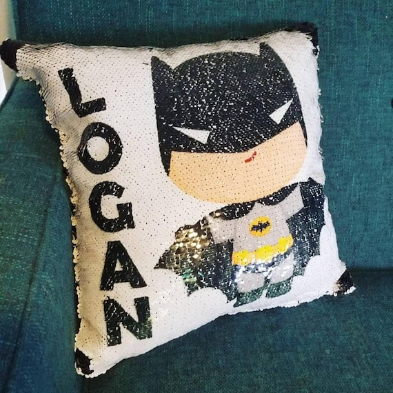 BATMAN Pillowcase Personalized Any Name Good Night Super Soft Great Gift
