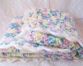 Baby or Toddler Car Seat Blanket