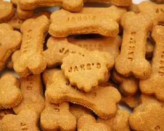 Gingerbread Gourmet Dog Treats, Dog Cookies Grain Free, Dog Gift
