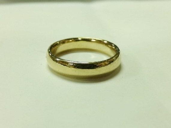 Stuller Wedding Bands   Stuller Vintage 14k Yellow Gold 5mm Wedding Band Men S Sz Etsy