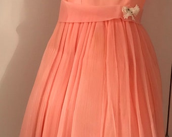 8e95b9fb688c Vintage 1962 Kerry Teen Sears organza dress