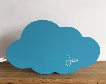 Customizable to the wall cloud applique