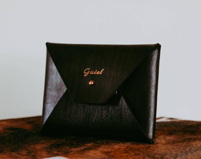 Maale Leather Clutch