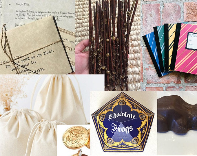 ULTIMATE Harry Potter Gift, Harry Potter Personalized Wizard and Witch Acceptance letter with free travel ticket - Harry Potter Replica