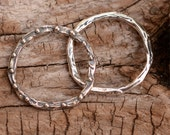 Artisan 19mm Dotted Link in Sterling Silver L-226 (Set of 2) photo