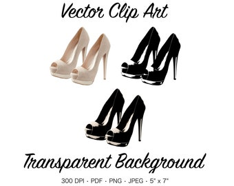 eb7963360526 Pink High Heels Clip Art - Sexy High Heels Graphic
