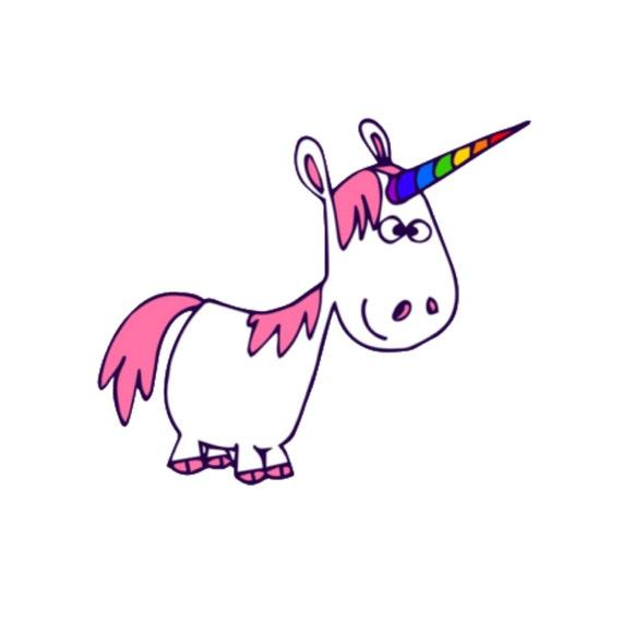 Unicorno Clip Art Unicorn Clipart Clip Art Unicorn Etsy