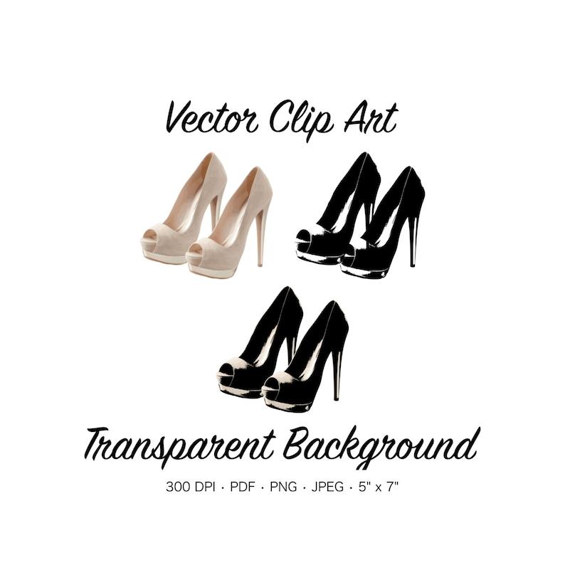 755f03369757 Pink High Heels Clip Art Sexy High Heels Graphic Shoe Clip
