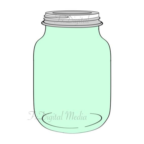 Glass Jar Clipart