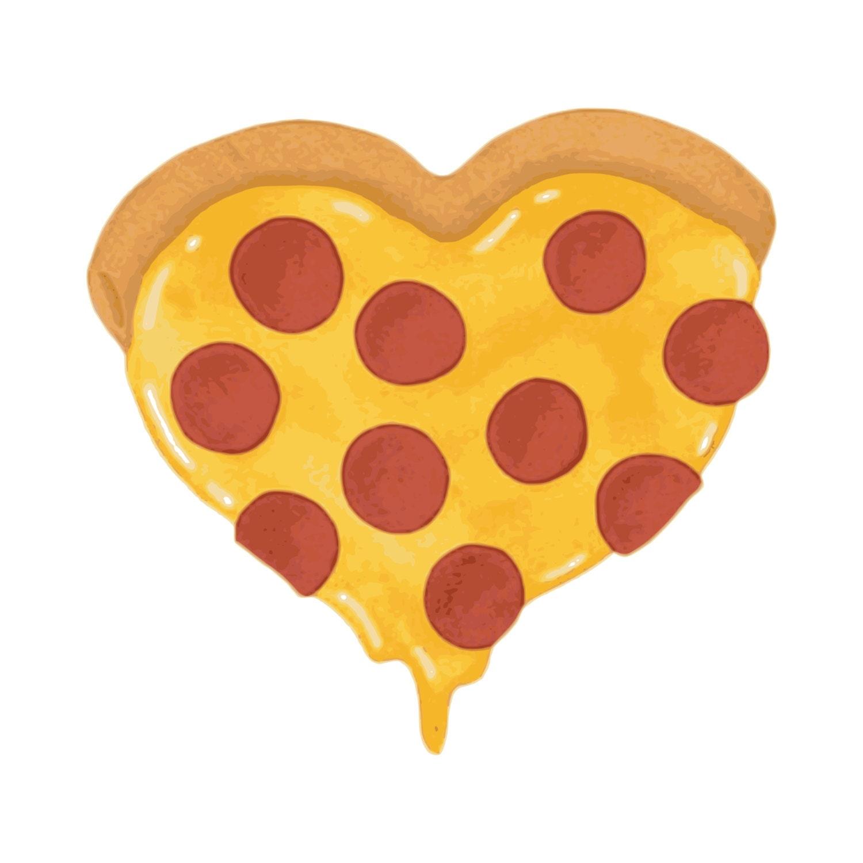 Heart Pizza Clip Art Pizza Clip Art Clip Art Pizza Pizza   Etsy