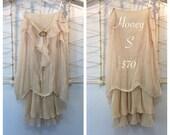Boho Vintage Dress- Honey