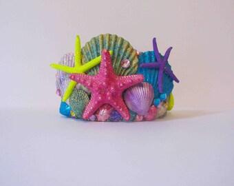 Mermaid crown, mermaid headdress, under the sea crown.