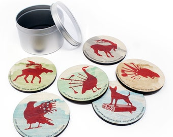 Lesser Known Canadian Wildlife Coasters