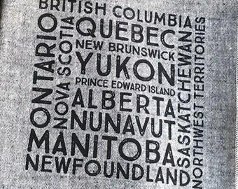Canada Provincial Serviettes