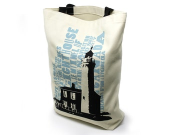 Canadian Icons Lighthouse Shopping Bag