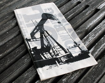 Pumpjack Tea Towel