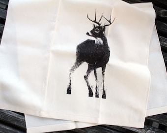 Canadian Buck Tea Towel