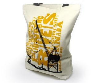 Canadian Icons Shipyards Shopping Bag