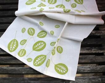 North Shore Autumn Leaves Tea Towel