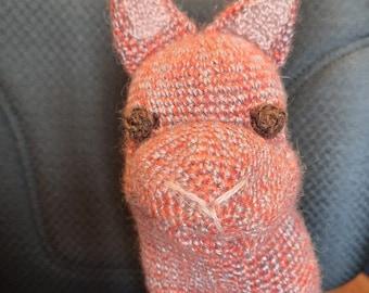 Crochet puppet - mohair puppet - children's puppet