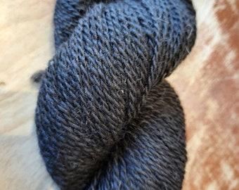 Black alpaca fiber - natural alpaca wool - alpine fibre skeins - from our Georgia alpaca