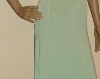 509b0fe2a96 Soft Mint Green Bandeau Dress Tube Dress Maxi Tube Dress Sun Dress Long  Dress Fitted Dress Strapless Bandeau Bodycon Maxi Summer Dress