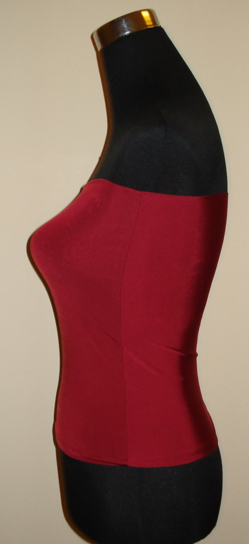 5e0feff3c34 Cherry red bandeau top boob tube top crop Top matching or