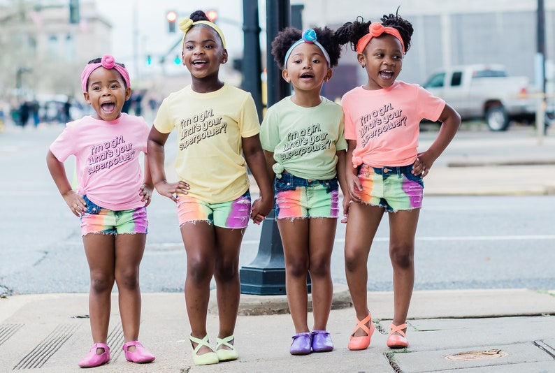 I/'m a Girl What/'s Your Superpower Kid/'s TShirt