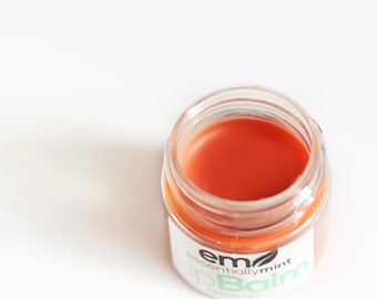 Peppermint Lip Balm, Natural Lip Balm, Natural Makeup, Peppermint Essential Oil Lip Balm