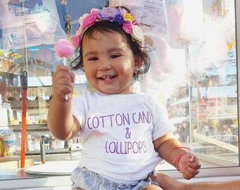 Cotton Candy & Lollipops