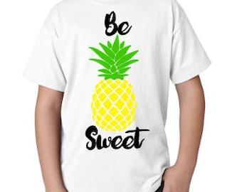 Be Sweet Pineapple Tee