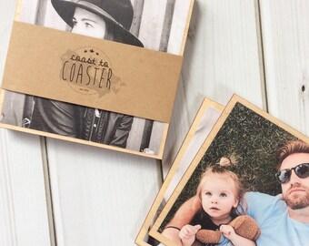 Custom Coasters, Personalized Coasters, Photo Coasters, Photo Gift, Custom Gift, Personalized Gift, Shower Gift, Engagement Gift, Coasters