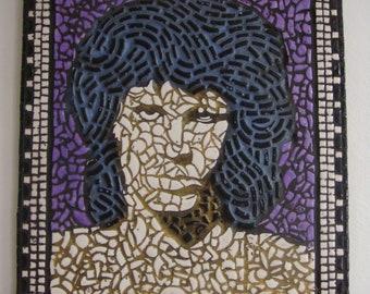 Jim Morrison The Doors mosaic handcrafted picture art U.K Artist design art