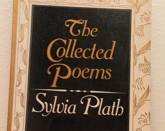 Sylvia Plath - The Collected Poems - Vintage Paperback Book