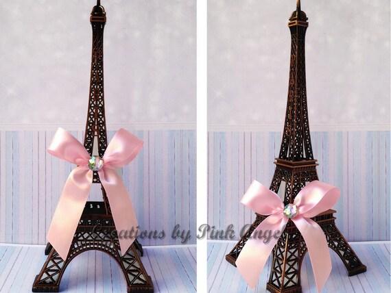 10 Inch Black Eiffel Tower Centerpiece Paris Bridal Shower Or Etsy